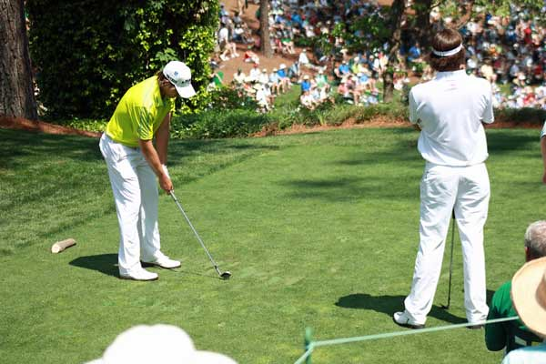Par 3 Tournament - Aaron Baddely and BUBBA WATSON