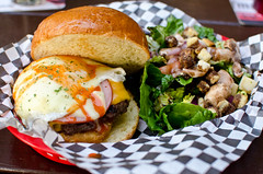 DSC_5294 (KayOne73) Tags: ca food bar lens prime restaurant la los nikon downtown angeles g burger burgers f kangaroo captain hamburger mm nikkor 18 35 afs hideaway dx escondite d7000