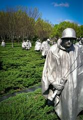 Korean War Memorial (Steve4343) Tags: iphone4 camera phone korean war memorial washington dc soldiers raincoats anawesomeshot mygearandme flickrelite blinkagain steve4343