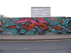 JIROE (Brighton Rocks) Tags: new england graffiti brighton artillery quarter ha heavy giroe jiroe