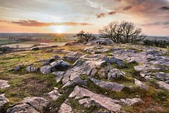 Evening wander // New tripod test (thills1988) Tags: sunset landscapes rocks leicestershire croft tamron f28 1750mm croftquarry manfrotto055xprob sonya55 snapseededit