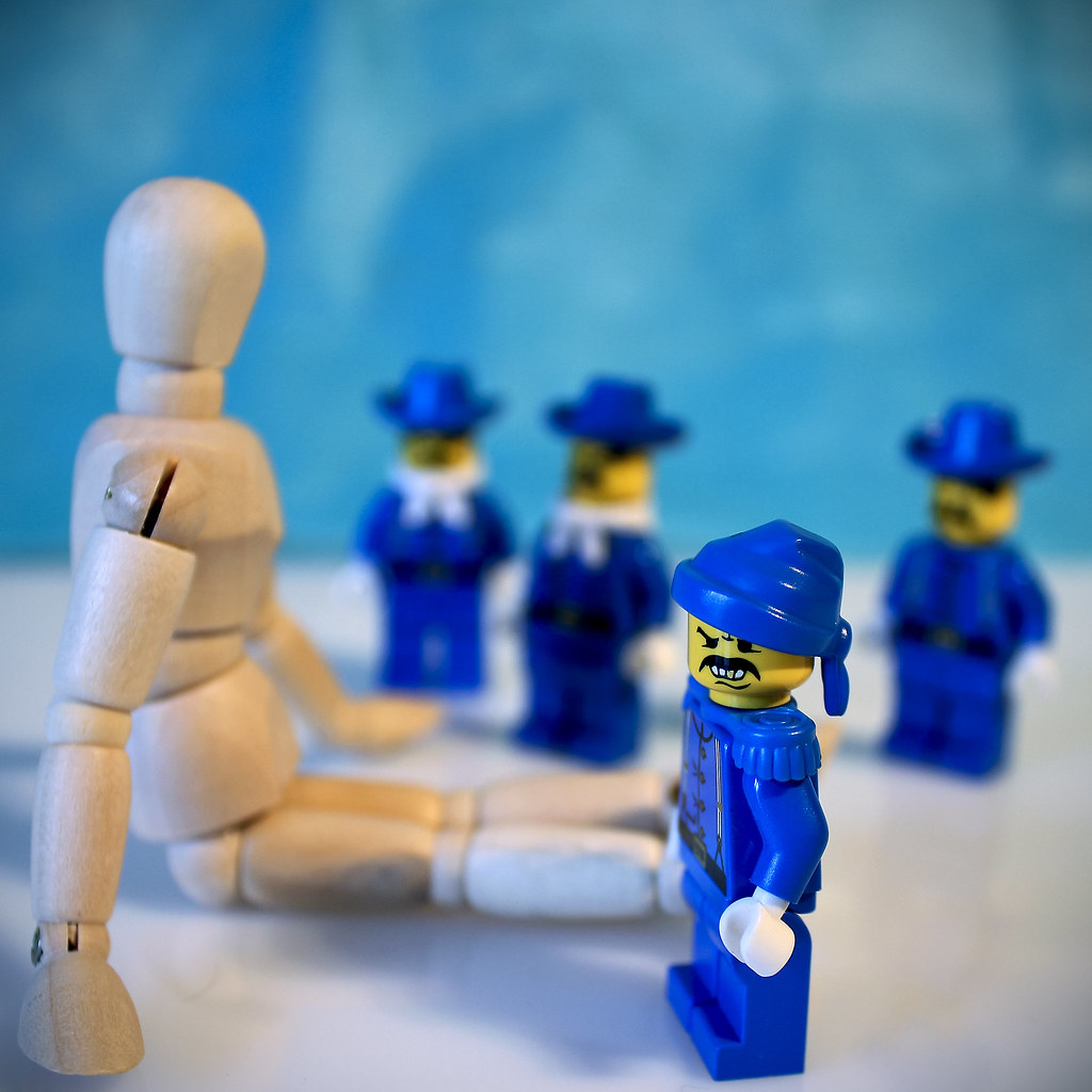 bc1d60beda7cce BAD BOYS in BLUE (moksimil) Tags  blue mannequin closeup toys lego woody  blau