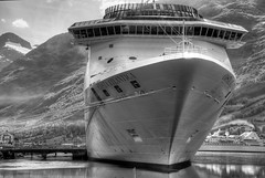 costa atlantica revisited - HDR (R.Duran) Tags: bw blancoynegro norway boat norge nikon europa europe barco d70s bn noruega hdr olden crucero 3xp costaatlantica photomatix sigma18200mmf3563 ltytr1