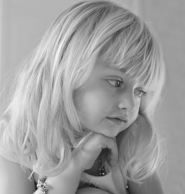 Elsie daydreaming