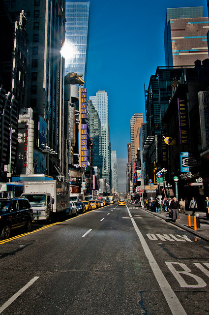 On the road... New York