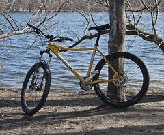 Surly Along the Merrimack River (Boneil Photography) Tags: canon ma powershot g6 surly haverhill merrimackriver instigator boneilphotography brendanoneil