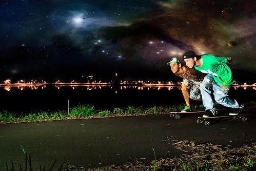 intergalactic longboarding
