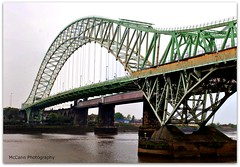 Silver Jubilee Bridge (McCann Photography) Tags: uk england water river cheshire engineering mersey runcorn widnes rivermersey silverjubileebridge