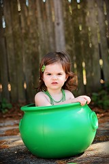 (Kristi1228) Tags: green girl canon beads toddler child shamrock stpatricksday potofgold
