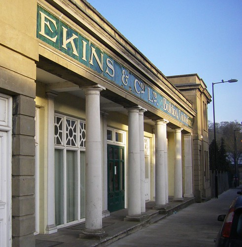 Ekins the Builders facade, Hertford