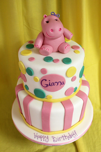 Hippo Birthday Custom