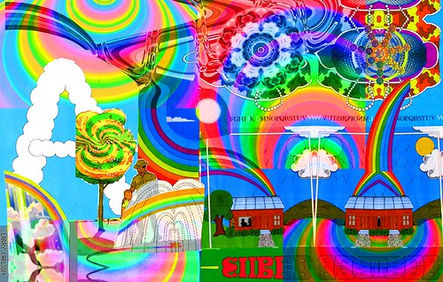 Larry Carlson, Super A, digital chromogenic print, 24x26in., 2004.