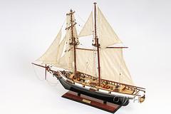 Harvey Painted Model Ship (ModelShipsnBoats.com) Tags: sail nautical modelship nauticaldecor woodship harveymodelshipwood