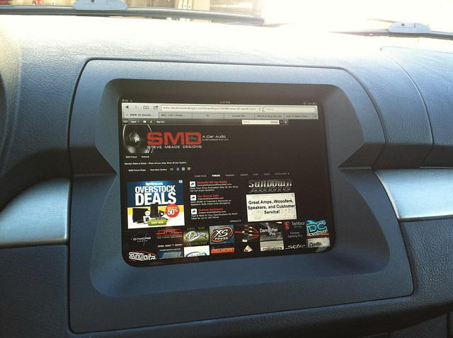 2001 2 bmw x5 bezel ipad