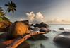 Morning Glory (BarneyF) Tags: seascape silhouette sunrise island la paradise hilton seychelles passe labriz