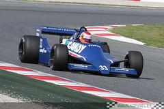 [33] Bill Coombs (Tyrrell 009) (DFGfotografia) Tags: barcelona cars car coche motor catalunya circuit campeonato coches montjuich montmelo vehiculos circuito espíritu circuitdecatalunya clasicos gpmasters circuitcatalunya tyrrell009 mckopy billcoombs mckopyxel wwwmckopyxeles