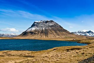 Kirkjufell að vestanverðu