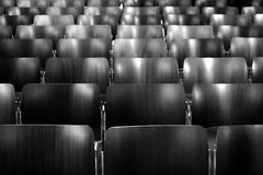 (Delay Tactics) Tags: bw white black amsterdam de chairs explore rows kerk nieuwe