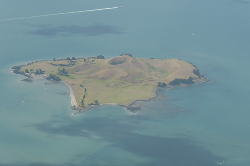 Landeanflug Auckland (Foto von Jenni)