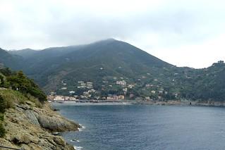 The cliff Bonassola.