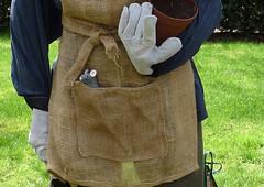 Pocket mouse (karenblakeman) Tags: uk mouse scarecrow april caversham 2014 cavershamcourtgarden beanpoleday mikelelliot hestercasey fredtheundergardener