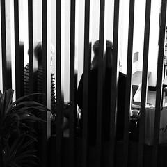 Rayadas (no sabemos cmo llamarnos) Tags: people blackandwhite blancoynegro coffee caf monochrome bar strangers streetphotography mujeres