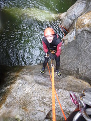 P1120379 (Mountain Sports Alpinschule) Tags: blue mountain sports lagoon canyoning zillertal zemmschlucht alpinschule