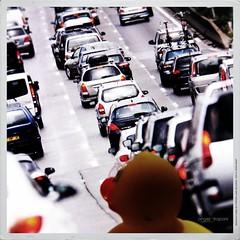 Viaggio in pullman - A1 direzione nord (Angelo Trapani) Tags: auto duck pullman a1 viaggio nord traffico autostrada papera storia ducktales avventura