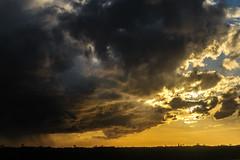 Storm Clouds (durktalsma) Tags: sunset storm evening stormy friesland stormclouds