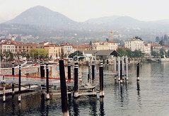 Italy.  march 29th.-April 3rd. 1998 (Cynthia of Harborough) Tags: mountains water architecture lakes views 1998