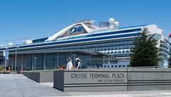 Pier 27 Grand Princess 5-2016 (daver6sf@yahoo.com) Tags: cruiseship portofsanfrancisco grandprincess jhp pier27