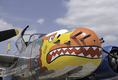 A-26 Nose Art (dcnelson1898) Tags: california military airplanes airshow warbirds usnavy worldwar2 chino usarmy koreanwar militaryhistory sanbernardinocounty planesoffamemuseum chinoairport 2016planesoffameairsow