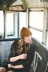 (courtneymichaud) Tags: portrait bus abandoned girl face fashion graffiti clothing model nikon rust punk grafitti grunge lifestyle naturallight niagara abandon nikkor alternative naturallighting abandonedplace softgrunge makeportraits nikond610