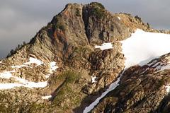 Zoom of the Peak (jpmckenna - Northern Plains Tour Coming Up) Tags: northcascades getoutside hikingwashington washingtontrails lakeanntrail mtbakernationalrecreationarea mypubliclands