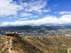 IMG_0396 (The.Rohit) Tags: travel vacation mountain beach nature landscape hawaii coast waikiki oahu hiking hill hike explore crater vista honolulu aloha leahi hikingtrail diamondheadcrater diamondheadstatemonument diamondheadsummittrail