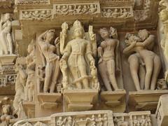 Carving details at Khajuraho temples (vbolinius) Tags: travel india statue temple khajuraho 2016