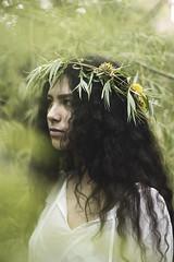 IMG_9748 (aishejonelle) Tags: trees flower tree nature girl female hair outdoors long child outdoor portait fresh curly preraphaelite