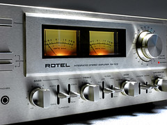 Rotel RA 1312 Stereo Amplifier (oldsansui) Tags: old music classic radio vintage design amp retro stereo sound 1975 1970 1970s amplifier seventies audio receiver hifi madeinjapan rotel 70erjahre