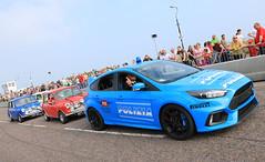 Focus RS (tomh260) Tags: bournemouth wheels festival car cars 2016 italian job ford focus rs police paul swift stunt team mini cooper polizia blue nitrous