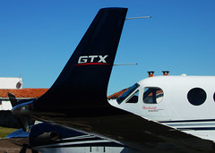 GTx (Antnio A. Huergo de Carvalho) Tags: airplane wings king aircraft aviation air wing engine motor asa avio winglet beechcraft propeller beech prop aviao kingair hlice c90 aviaoexecutiva aviaogeral c90gtx ppjcl