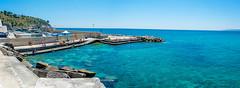Seascape - Italy (fabioseda) Tags: ocean sea people panorama seascape sol praia beach mar italia waves natureza paisagem castro puglia sul 500px