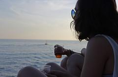 relax (anvaliri) Tags: sunset sea canon relax atardecer mar dubrovnik croacia 1585