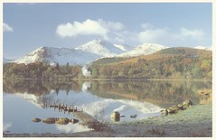 postcard of Derwent Water and Causey Pike, Lake District, Cumbria, England (johnjennings995) Tags: england lake water postcard lakedistrict cumbria derwentwater causeypike