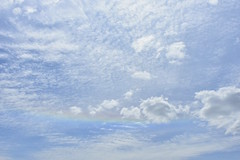 huge sundog (mainesandy) Tags: sundog rainbow clouds sky