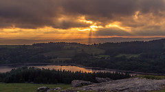 Sheepstor, Dartmoor (Rich Walker75) Tags: uk sunset england sky cloud clouds landscape evening landscapes skies dusk devon dartmoor