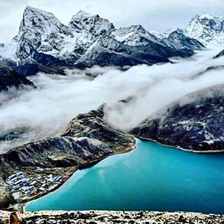 Gokyo valley trekking with vai chola pass #gokyovalley #gokeyori #ranjolapass #cholapass #chomolungmachallenge #challenge #trek #everestbasecamp #expedition #exploring #guides #sherpavillage #montains #monestry #luklaairport #nepalplanettreks #nepalguidei