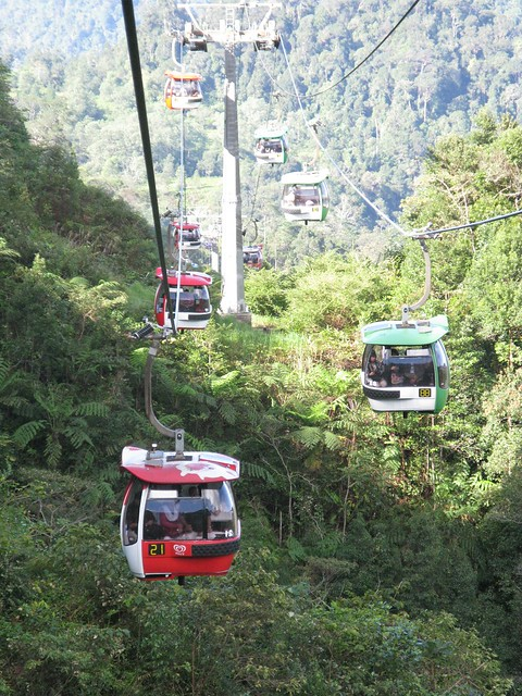 Cable Car to genting Highlands
