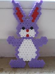 Easter Bunny (petuniad) Tags: easter beads ostern hama perler prlplattor hamabeads perlerbeads strijkkralen bgelperlen buegelperlen