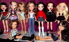 Redressing Is Fun! (Bratz Guy☆) Tags: girls red party fashion movie toys dolls dress princess lasvegas jade destiny sasha yasmin fabulous mga shadi bratz cloe stepout roxxi bratzparty
