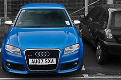 Electrified Blue! (GTRJacko Photography) Tags: york uk blue england sedan hp britain yorkshire united great north kingdom gb audi saloon injection 414 b7 42 v8 stratified fuel sepang liter litre rs4 fsi yorks bhp 4door worldcars